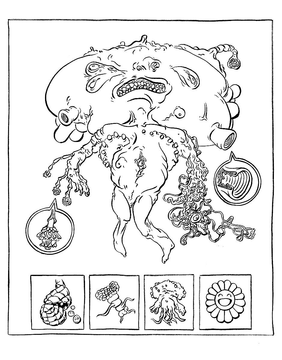 Color Ink Book - Daniel Goffin