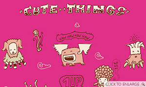 Cute Things ー by daniel goffin