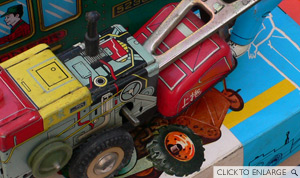 Chinese Tractor Toy